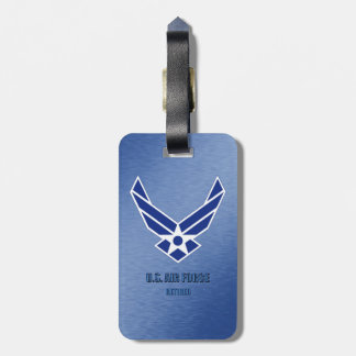 U.S. Air Force Retired Luggage Tag