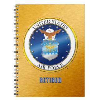 U.S. Air Force Retired Spiral Photo Notebook