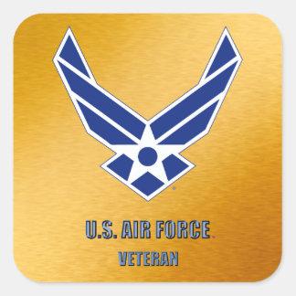 U.S. Air Force Retired Square Sticker