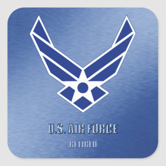 U.S. Air Force Retired Sticker
