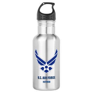 U.S. Air Force Retired Water Bottle