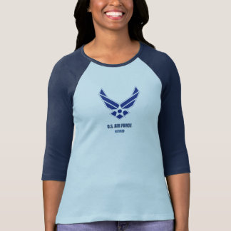 U.S. Air Force Retired Woman Bella+Canvas T-Shirt