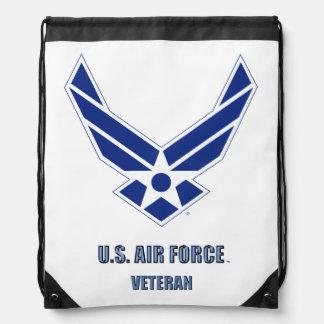 U.S. Air Force Vet Drawstring Backpack