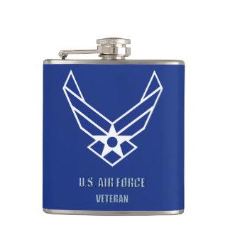U.S. Air Force Vet Vinyl Wrapped Flask
