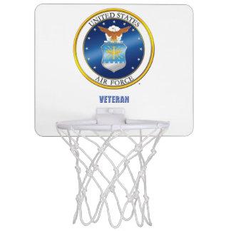 U.S. Air Force Veteran Basketball Hoop