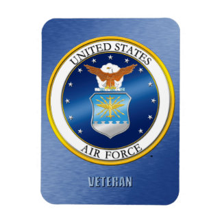 U.S. Air Force Veteran Flexible Photo Magnet
