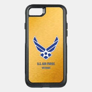 U.S. Air Force Veteran iPhone & Sasmsung Otterbox OtterBox Commuter iPhone 7 Case