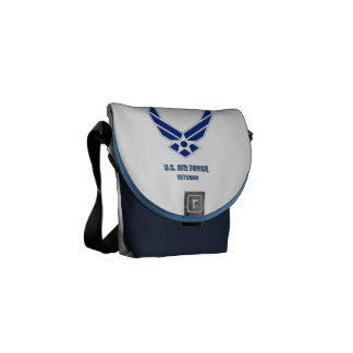 U.S. Air Force Veteran Rickshaw Messenger Bag