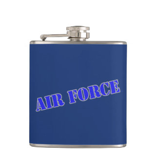 U.S. Air Force Vinyl Wrapped Flask