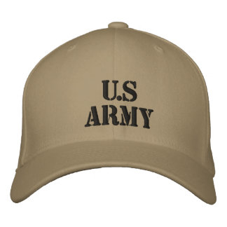 U.S Army Embroidered Cap