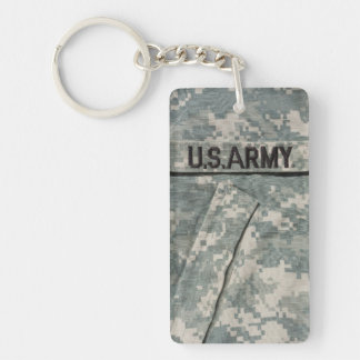 U.S. Army Rectangle (single-sided) Keychain