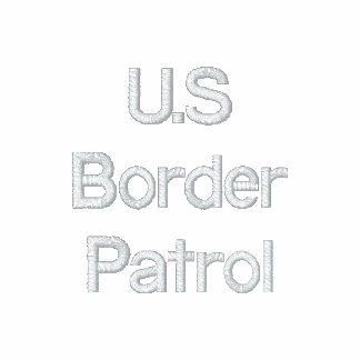 U.S Border Patrol Embroidered Polo Shirt