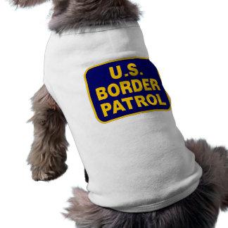 U.S. BORDER PATROL (v189) Sleeveless Dog Shirt