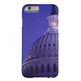 U.S Capitol at dusk with light in dome on Barely There iPhone 6 Case