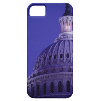 U.S Capitol at dusk with light in dome on Case For The iPhone 5