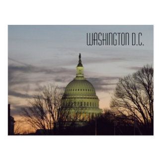 U.S. Capitol Building Dome Washington D.C. Postcard
