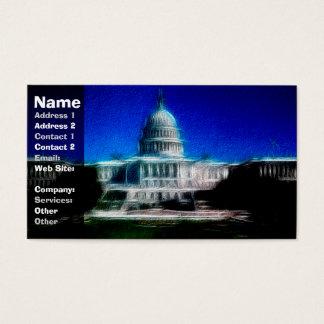U.S. Capitol Washington DC Business Card