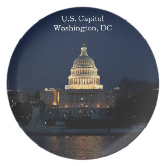 U.S. Capitol, Washington, DC Commemorative Plate