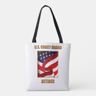 U.S. Coast Guard All-Over-Print Tote Bag, Medium