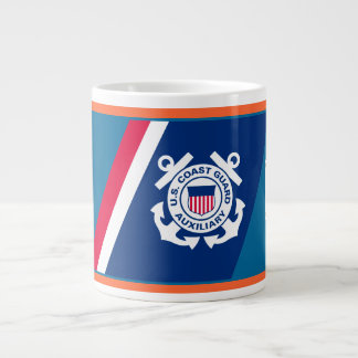 U.S. Coast Guard Auxiliary Large Coffee Mug