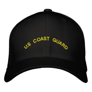 U.S Coast Guard Embroidered Hat
