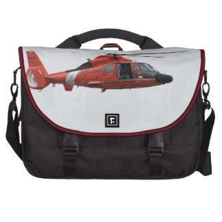 U.S. Coast Guard HH-65C Dolphin. Laptop Messenger Bag