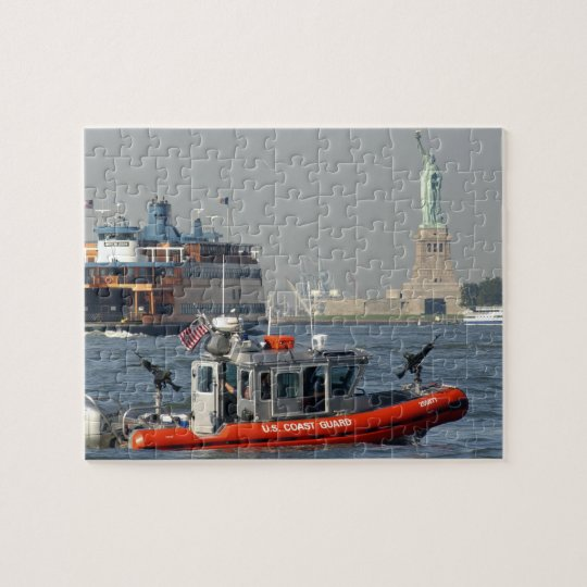 U.S. Coast Guard New York Harbour Patrol Puzzle