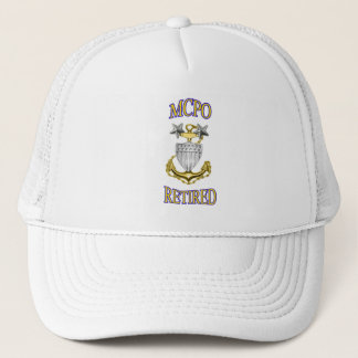 U.S. Coast Guard Retired MCPO Hat