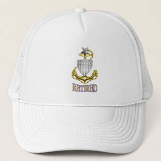 U.S. Coast Guard Retired SCPO Hat