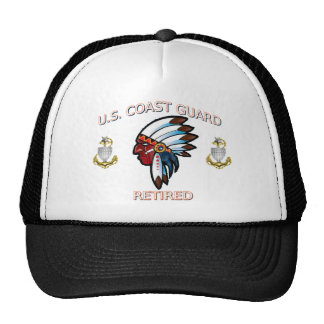 U.S. Coast Guard Senior Chief Hat