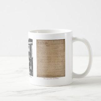 """U.S. Constitution - 1st Amendment"" mug"