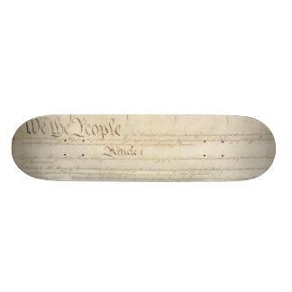 U.S. Constitution Skateboard Deck