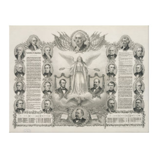 U.S. Declaration of Independence by Kurz & Allison Gallery Wrap Canvas