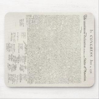U.S. Declaration of Independence Mousepad