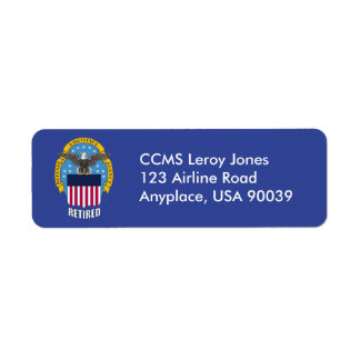 U.S. Defense Logistics Agency Retired Return Address Label