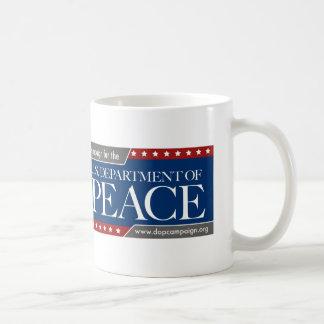 U.S. Department of Peace Campaign Mug