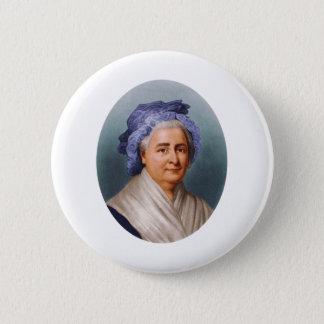 U.S. First Lady Martha Dandridge Custis Washington 6 Cm Round Badge