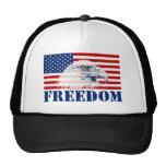 U.S. Flag & Eagle FREEDOM Hat Hats