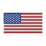 U.S. Flag Embroidered Hoodies