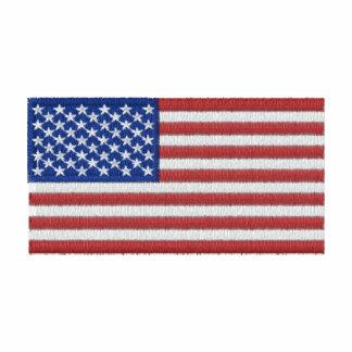 U.S. Flag Embroidered Shirt