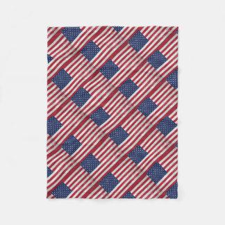 U.S. Flag Fleece Blanket