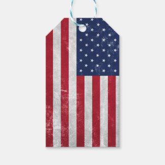 U.S. Flag Gift Tags