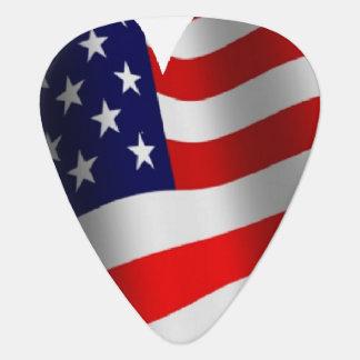 U.S. Flag Plectrum