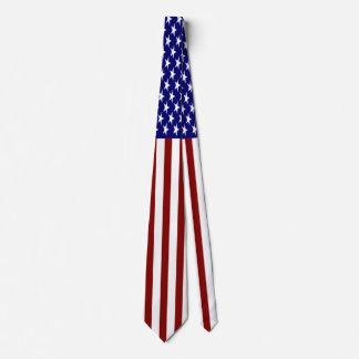 U.S. Flag Striped Tie