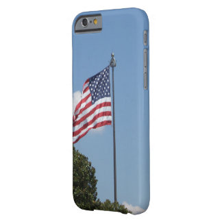 U.S. Flag Waving in the wind Barely There iPhone 6 Case