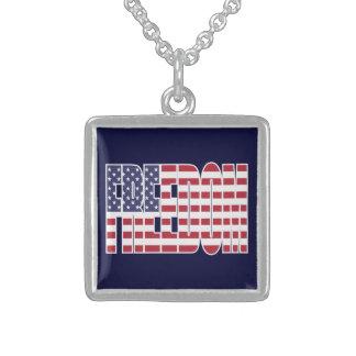 U.S. Freedom Flag Necklace