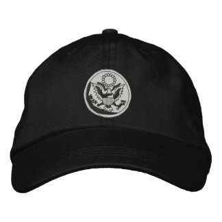 U. S. Great Seal Embroidered Baseball Cap