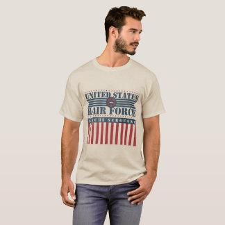 U.S. Hair Force Stache Sergeant T-Shirt