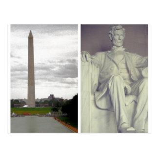 U.S. History Postcard