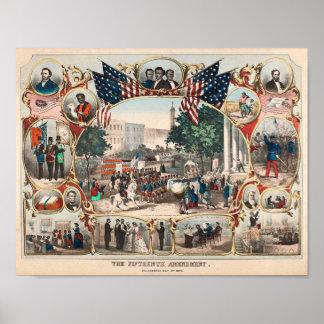 U.S. History: The Fifteenth Amendment Poster